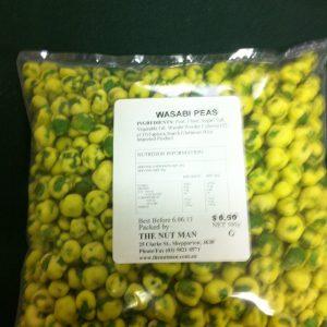 Wasabi Peas-500gm